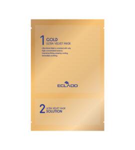 Gold Velvet Mask
